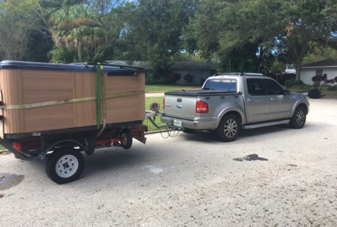 The BEST Spa / Hot Tub / Jacuzzi Delivery Service